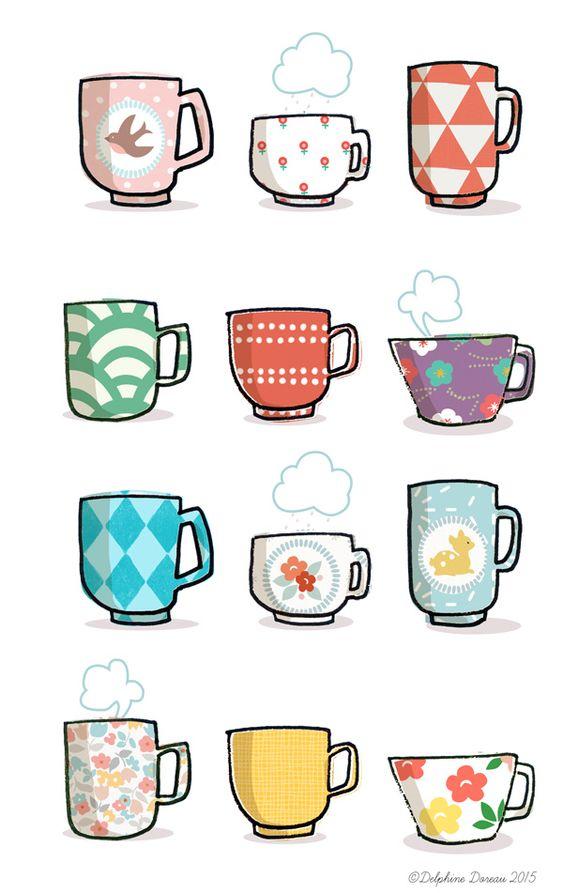 Alors, une tasse de thé,  dans le calme, et on repart...