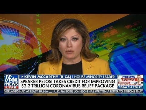 Sunday Morning Futures With Maria Bartiromo 3 29 20 Maria Bartiromo Fox News March 29 2020 Youtube In 2020