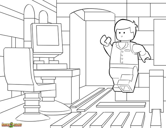 Lego Movie Coloring Pages Pdf : Pinterest the world s catalog of ideas