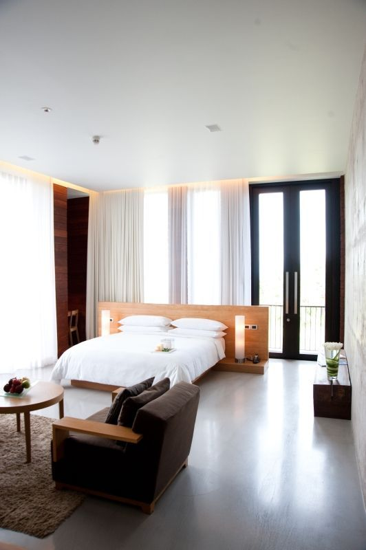 Puristisches Design in Thailand: Hotel de la Paix Cha Am Beach (Hua Hin)