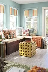 In this photo courtesy of Better Homes and Gardens, a small sunroom is shown. / AP / Better Homes and Gardens