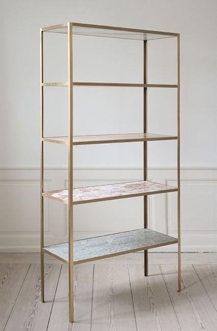 Marble Bookshelf
