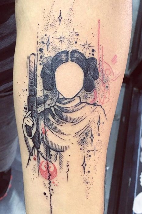 24 Out of this World Star Wars Tattoos #StarWars #tattoos