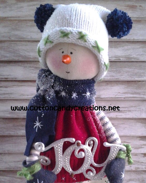 Handmade David Primitive Snowman by CCCPrimitives on Etsy, $32.00