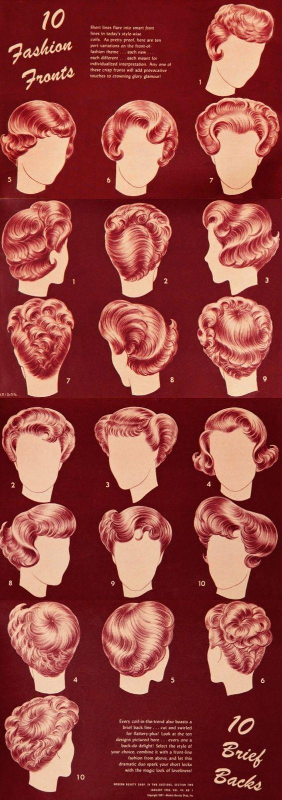 popular hairstyles 1950s | remember when. | pinterest | popular