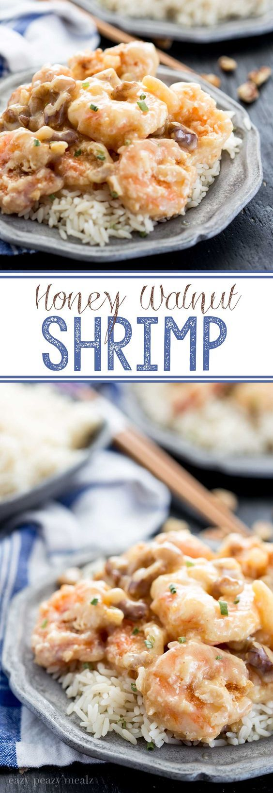 HONEY WALNUT SHRIMP Skip takeout and make this delicious and easy   shrimp at home. So easy, even the kids can help, and no sticky mess.