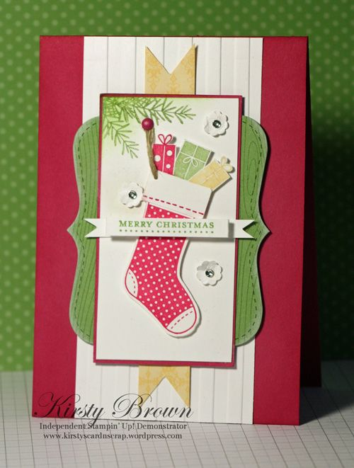 I'm so in love with Kirsty Brown's blog and cards.....she is so talented!!