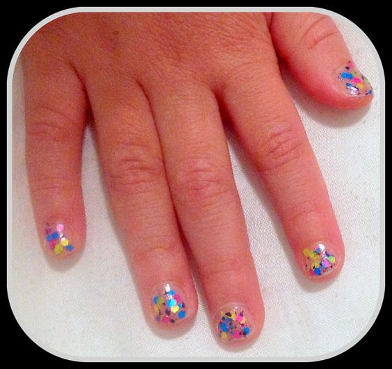 Neon Glitter Indie Nail Polish by Kissyface Kreations