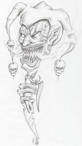 Resultado de imagem para tatuagens de palhaços