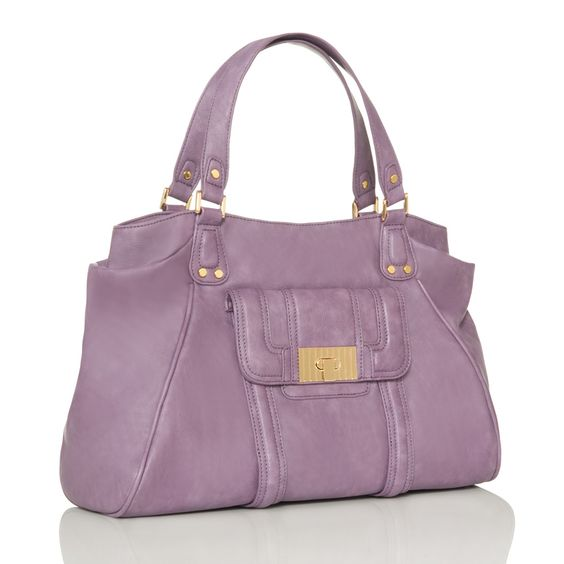 Lavender Handbag - JustFabulous