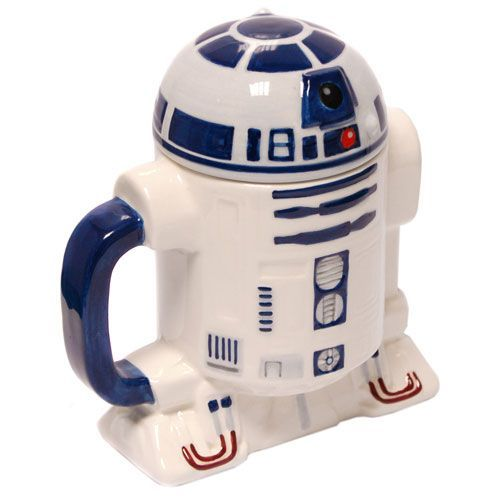 Morning Awesomeness! - Star Wars: Mug R2D2