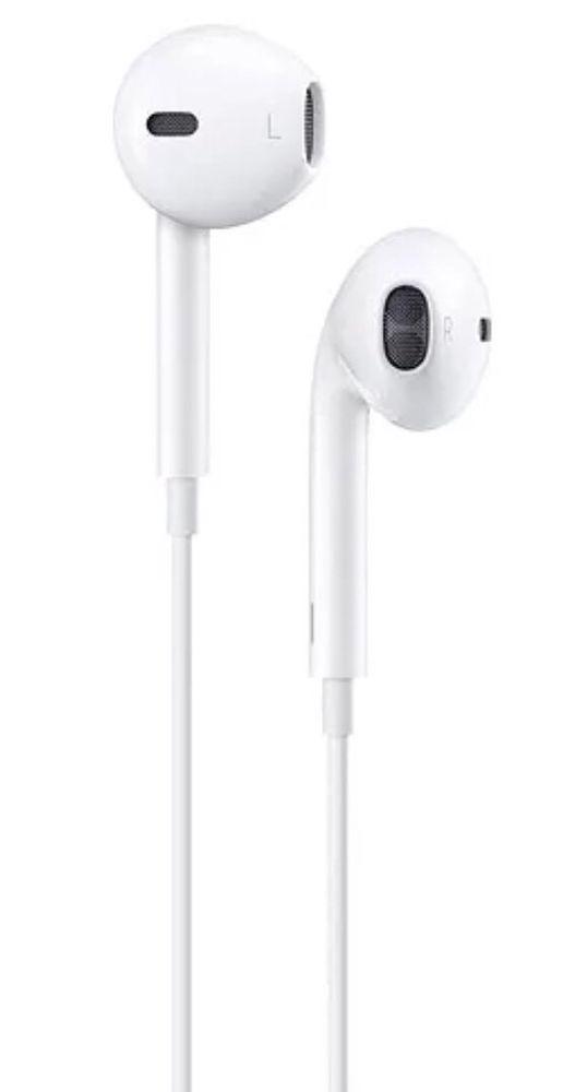 Apple Earpods With Lightning Connector White In Ear Only Headsets For Mobile Ebay Apple Earphones Apple Headphone Earbuds