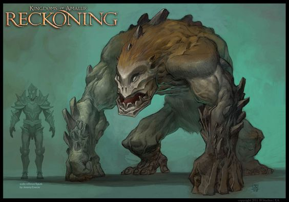 Kingdoms Of Amalur Reckoning Concept Art By Sean Andrew