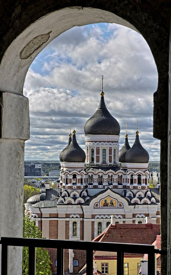 The Alexander Nevsky Cathedral in Tallinn, Estonia   by Klaus H..