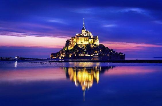 <3 Mont Saint Michel, France <3