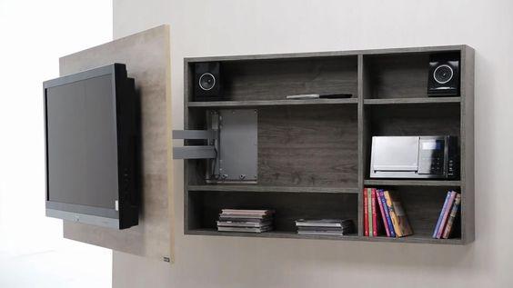 modular tv led lcd rack soporte tv mueble giratorio