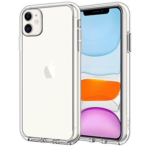 Jetech Coque Compatible Avec Apple Iphone 11 2019 61 Shock Absorption Et Anti Rayures Hd Clair Iphone Etui Iphone Coque Telephone Portable
