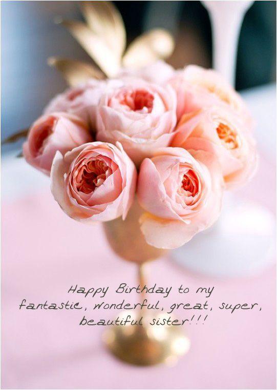 Happy Birthday To My Fantastic Wonderful Great Super Beautiful
