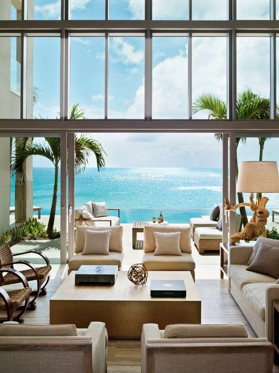 Una de las espectaculares villas del Viceroy Anguilla - Habitación con vistas