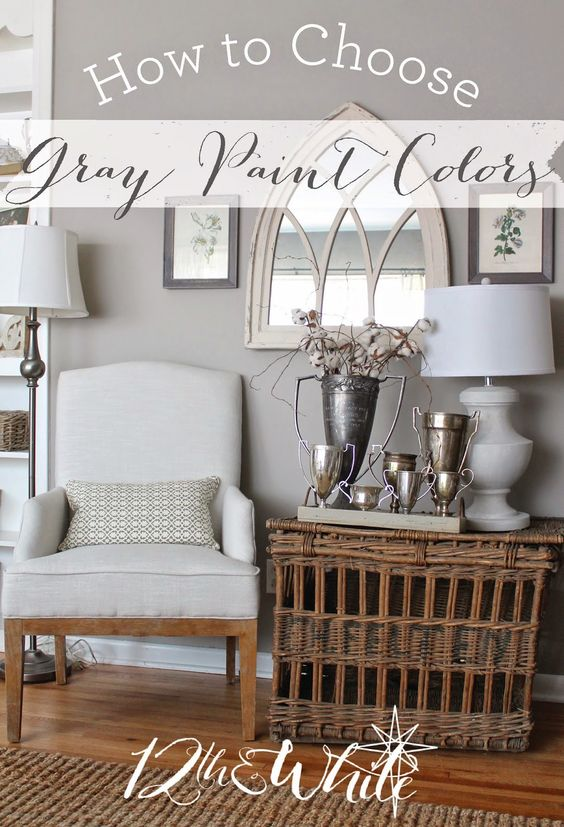 how to choose gray paint colors 12th and white paint colors gray. Black Bedroom Furniture Sets. Home Design Ideas