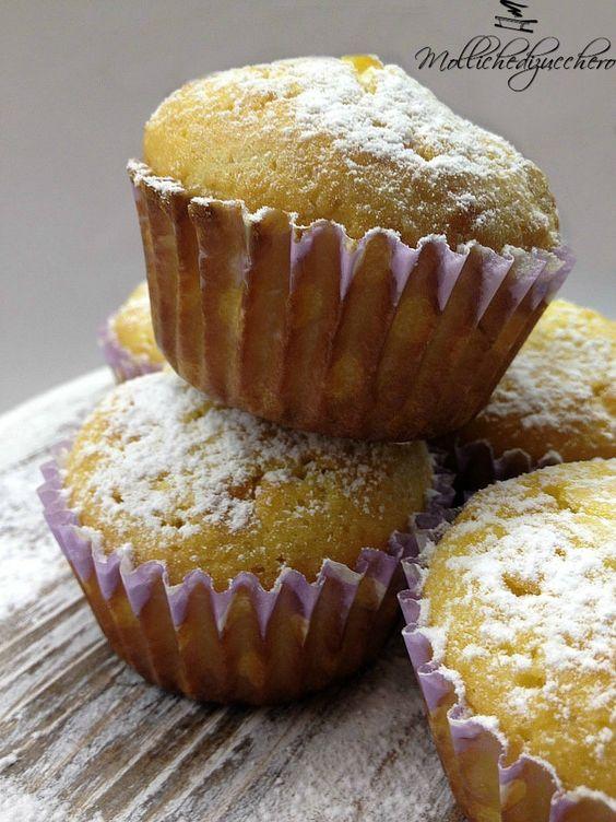 #Muffins #sofficissimi - Molliche di zucchero