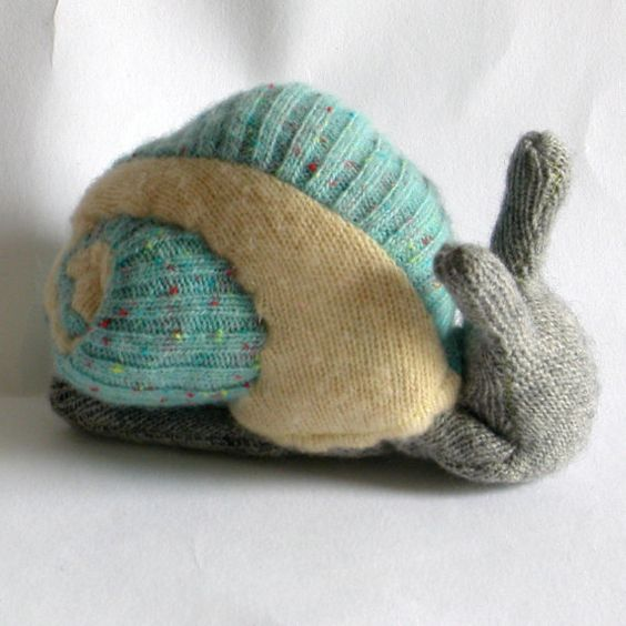 Wool and Cashmere Escargot