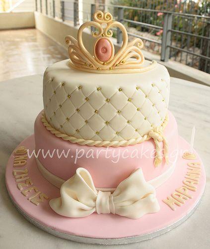 sleeping beauty crown cake - Google Search