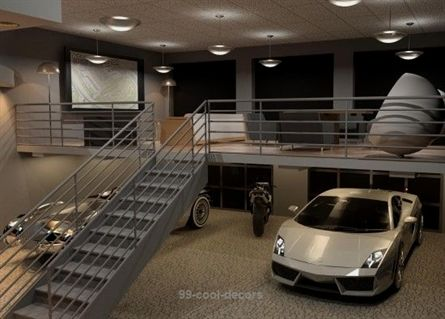 Luxury Garage Ideas With Smart Ideas Decoration Garage For Your Home With Luxury 99 Decors Luxury Garage Garage Interior Garage Decor