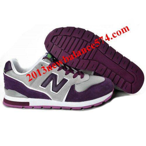 2013 New Balance NB Grey Purple For Women shoes Casual shoes Shop