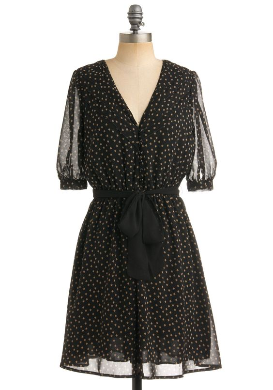 Style in Spades Dress - ModCloth