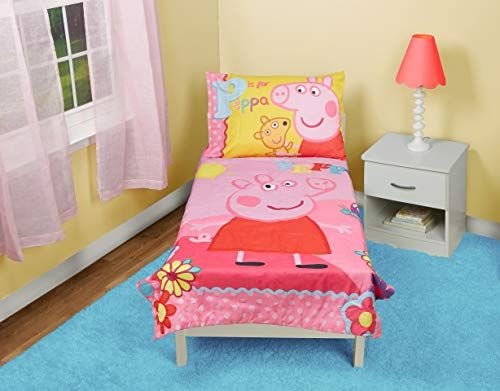 Peppa Pig Adoreable Toddler Bed Set Pink In 2020 Toddler Bed