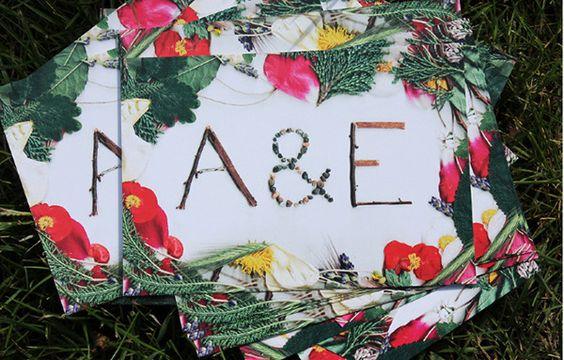 WEDDING / card & decoration on Behance