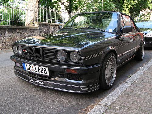 BMW E30 Alpina Cabrio