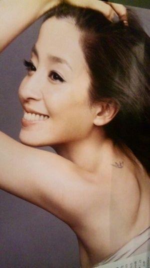 宮沢りえさんの折り鶴のタトゥー
