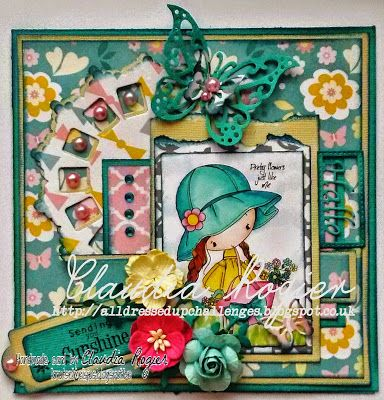 Little Flower Girl - All Dressed Up Challenge blog  http://alldressedupchallenges.blogspot.co.uk/2015/05/new-design-team-members.html: