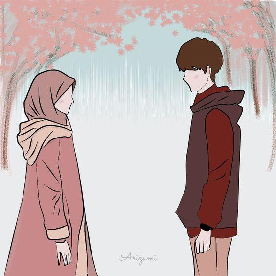 Kumpulan Gambar Kartun Muslimah 20