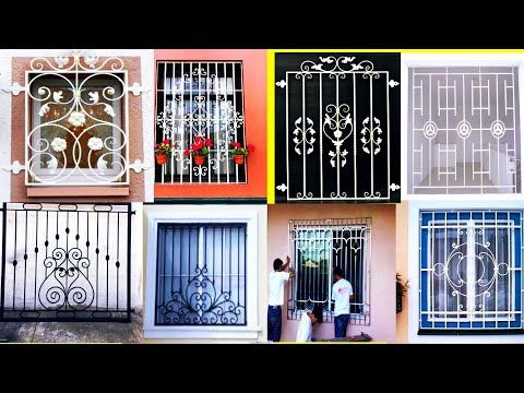 Simple Modern Window Grill 2019 Indian Window Grill Design Images Latest Grills Youtube Window Grill Design Modern Window Grill Grill Design House window grill design indian style