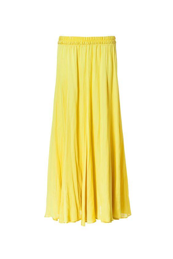 Tendencias primavera 2013 faldas vestidos largos maxi - Zara
