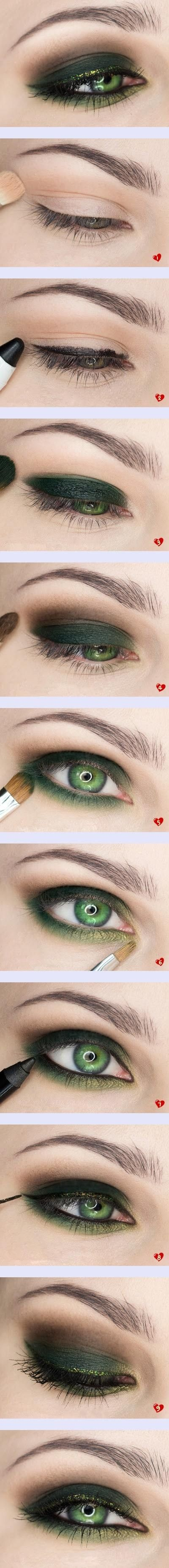 #green #eyes #makeup: