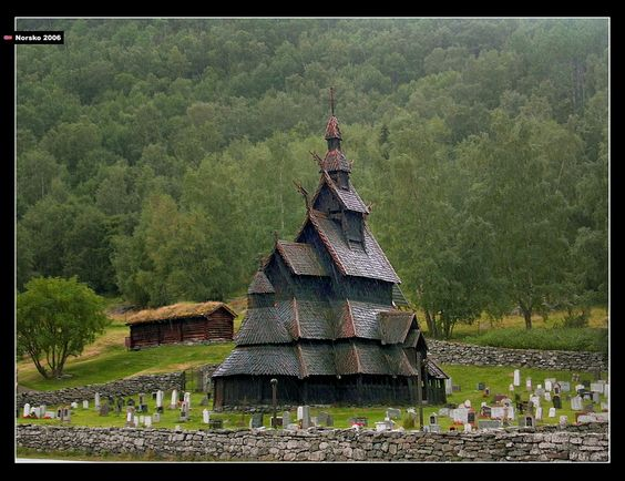 Borgund Stave Church  Borgund, Lærdal, Norway: Stave Church, Church Borgund, Wooden Church, Church Built, Architecture Churches, Churches Abbys, Churches Stavkyrkjer, Bucketlist Europe