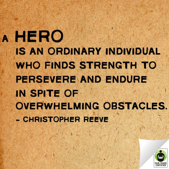 Do you agree? #FairTrade #Hero #InspirationalQuote