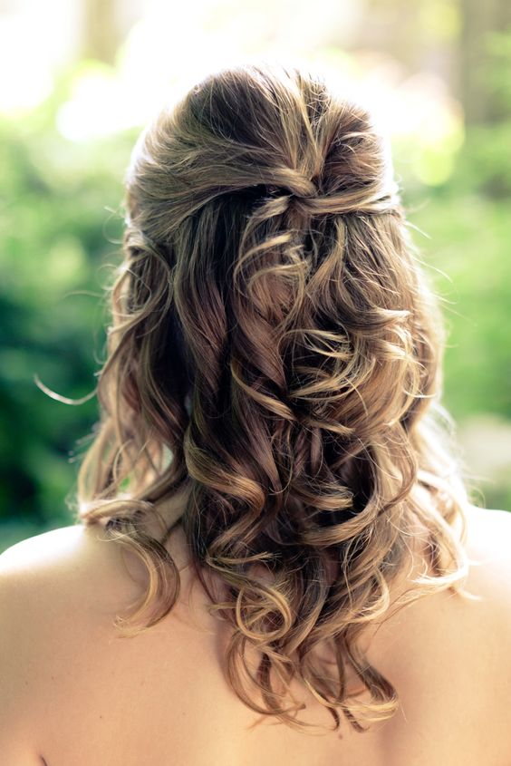 Terrific Bridesmaid Hairstyles Down 10671600 My Dream Wedding Hairstyles For Men Maxibearus