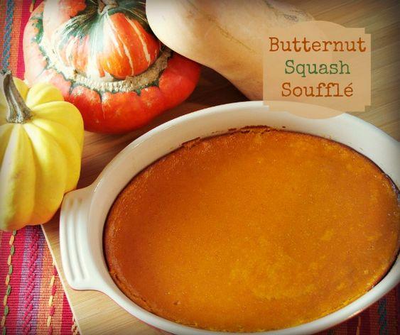 Butternut Squash Souffle | Recipe | Butternut Squash, Squashes and ...