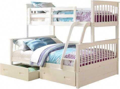 It S Remarkable Check These Seven Concepts All In Regards To Bunkbedstwinoverfull In 2020 Double Bunk Beds Bunk Beds White Bunk Beds