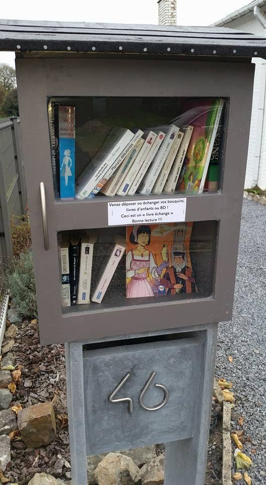 Boîte à livres Mons 10