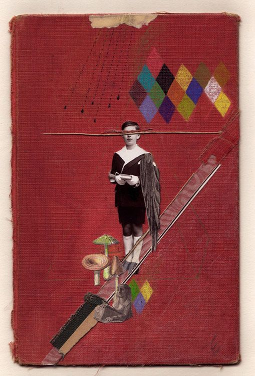 Emmanuel Polanco, collages & drawing