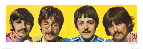 The Beatles, Sergeant Pepper's Lonely Heart Club Band Poster Print at Art.com