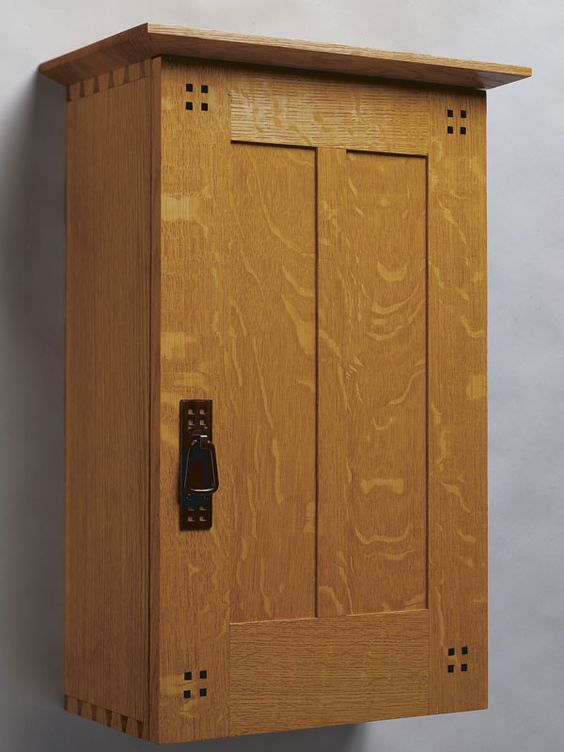 Wall cabinet woodworking pinterest craftsman doors for Craftsman cabinet plans
