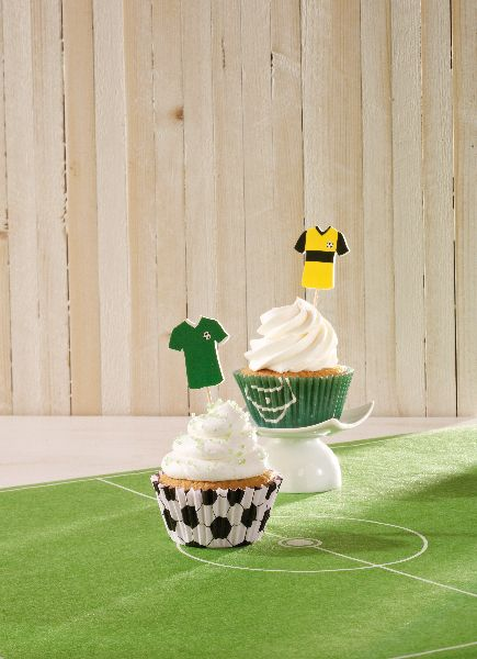 Cupcake Set Fussball bei www.party-princess.de