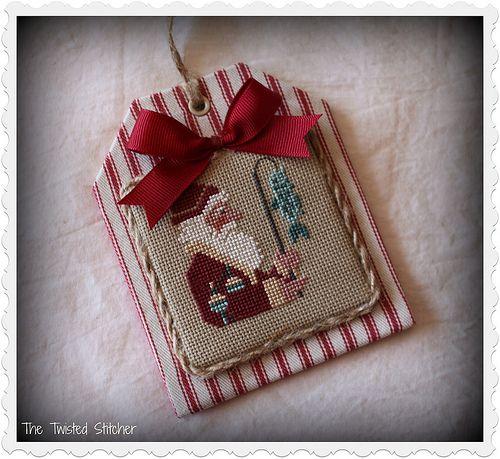 Prairie Schooler Santa Bk 36 finished by The Twisted Stitcher